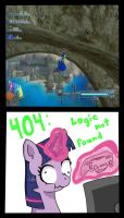 Twilight Sparkle's Reaction to Sonic 06 by Sonikku001