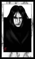 angry Snape by flam