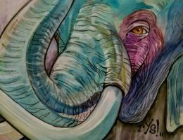 elephant! by RYSillustrates