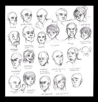 Expressions Chart by Eliket