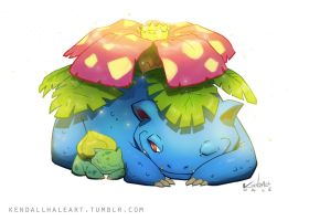 #003 Venusaur by StarvingStudents