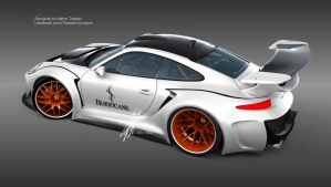 Porsche HURRICANE sports package Concept Design by mcmercslr