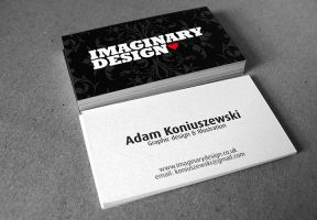 Imaginary - Business card by HanibalLecter