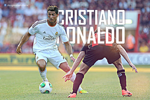 Cristiano Ronaldo 2013/2014 wallpaper by RafaelVicenteDesigns