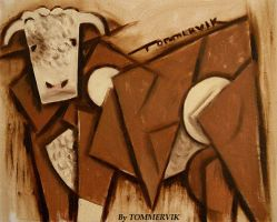 TOMMERVIK BULL COW by TOMMERVIK