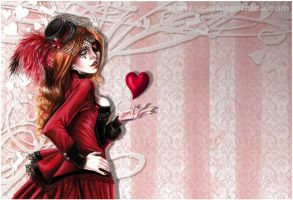 Queen of Hearts - homepage - by Claudia-SG