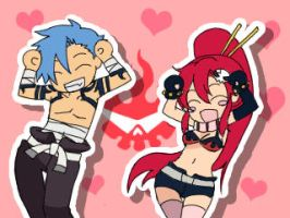 Yoko Kamina Caramelldansen by BirchillProductions