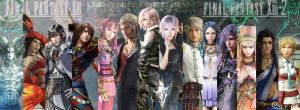 Final Fantasy XIII mozaic by KiuBe