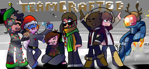 All Teamcrafted Christmas by misa-acar