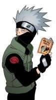 Hatake Kakashi scan by Mangsney