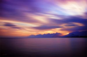 sunset in antalya by intels