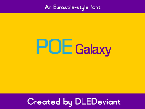POE Galaxy by DLEDeviant