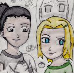 Young Ino 2 colored by Amandagirl