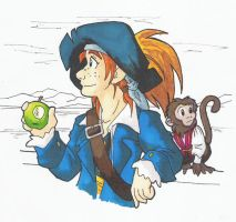 PotC - Hector :Coloured: by ironychan