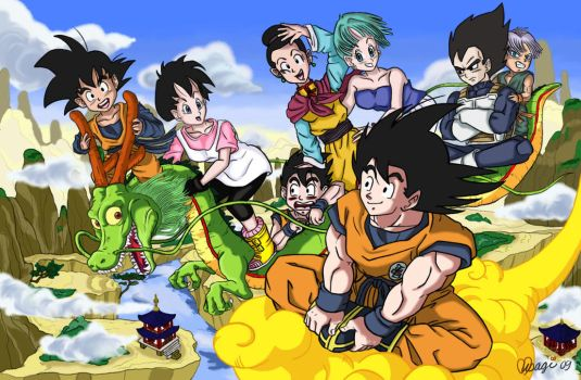 Dragon Ball Legacy by luvusagi
