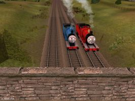 The Engines Swayed and Lurched. by BramGroatonDA