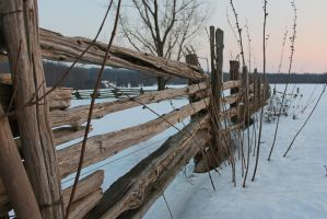 Old Rail Fence by Rachael01111001