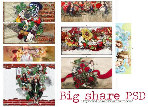 [SHARE PACK PSD ] ALL BY CREW by Molncie