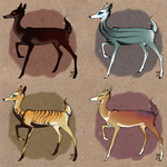 .deer adoptables 01 {1/4 open - reduced prices!} by Friiha