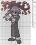 Soul Eater - Crona by Makibird-Stitching