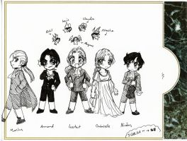 Vampires of Anne Rice-sensei by Rokuri