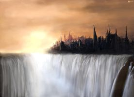 Waterfall City by ellepsis456