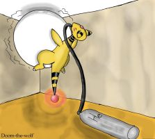 Ampharos Inflation by Gabriel-Dragon
