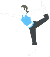 Wii Fit Trainer by MollyKetty