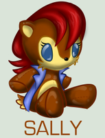 Sonic Plushie Collection:Sally by WingedHippocampus