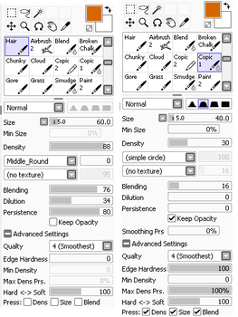 SAI - Hair Brushes Settings by AstralBlu