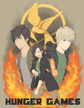 Hunger Games: May the odds be ever in your favor by ichan-desu