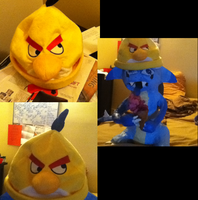 ::Yellow Angry Birds hat:: by Raichufan1