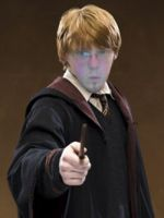 hahahaha me as ron weasly by shinigamiwelty