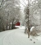 Barn in winter 2 by natureguy