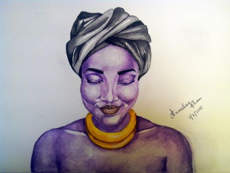 African Lady by AnoushayKhan
