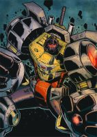 Grimlock45 by RecklessHero