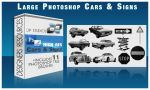Cars and Signs Photoshop Brush by DigitalPhenom