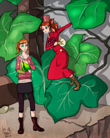 Epic Arrietty Crossover by Urani-a