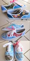 Pierce the Veil Shoes by feavre