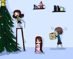 Two days before Christmas by SoraNoToshi