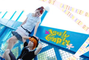LOVELYCOMPLEX-caution keep out by Sakina666