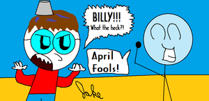 Happy April Fools Day! by jakelsm