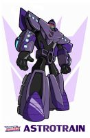 TFA Astrotrain Colours by qwailotim