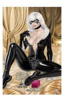 Felicia Hardy aka Black Cat by wardogs101