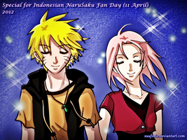 NaruSaku_For Indonesian NS Fan Day 2012 by SuuFoxie