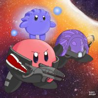 I'm Commander Kirby by DanceDanceCat