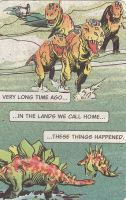 dinosaur things happened by beehivesandbouffants