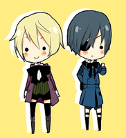 alois and ciel by tokoco