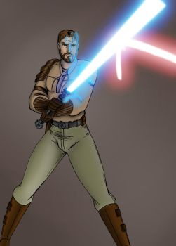 Kyle Katarn In Action by Cindrollic