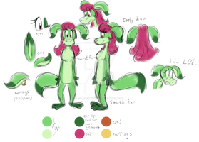 Greendy rough reference sheet by AdolfWolfed4Life